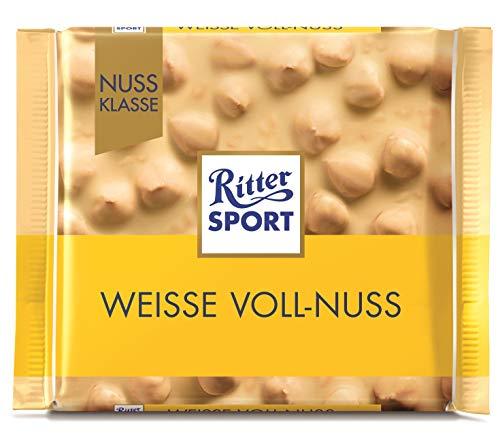 リッタースポーツチョコレート ナッツホワイト 100g