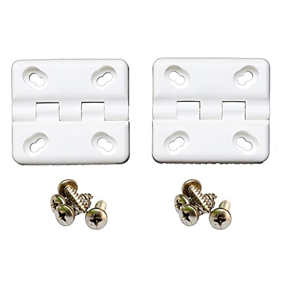 お気に入り不足鳴らすCOOLER SHIELD COOLER HINGE 2pk COLEMAN WHITE w/SS SCREWS by COOLER SHIELD