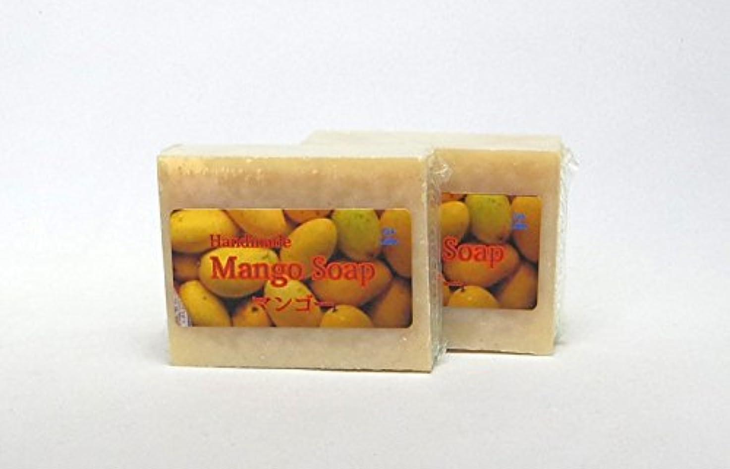 予想するあざに勝るGH-Labo マンゴー釜焚手作り純石鹸 2個セット