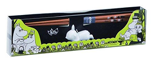ムーミン 箸・箸置き セット (化粧箱入) リトルミイ MM992-841