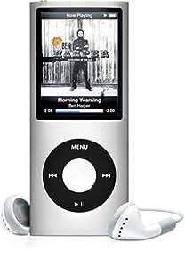 Apple iPod nano 第4世代 8GB シルバー MB598J/A