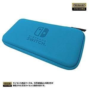 【任天堂ライセンス商品】スリムハードポーチfor Nintendo Switch Lite ブルー 【Nintendo Switch Lite対応】