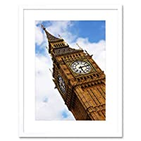 Photo Landmark London UK Big Ben Parliament Framed Wall Art Print 写真ランドマークロンドンイギリス壁