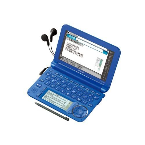 SHARP カラー電子辞書Brain 高校生モデル ブルー系 PW-G5300-A