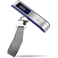 Lifede DE001 Portable Digital Luggage Scale w/110 lb Capacity,for Travel,Black