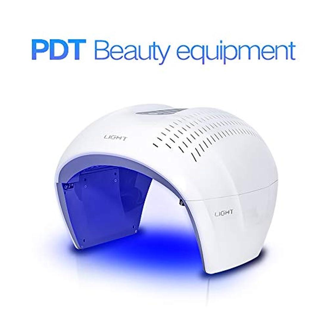 チーター章感嘆符健康な肌の若返りのコラーゲン、反老化、4色LEDの美のスキンケアの光子療法機械のための表面光子の赤灯療法