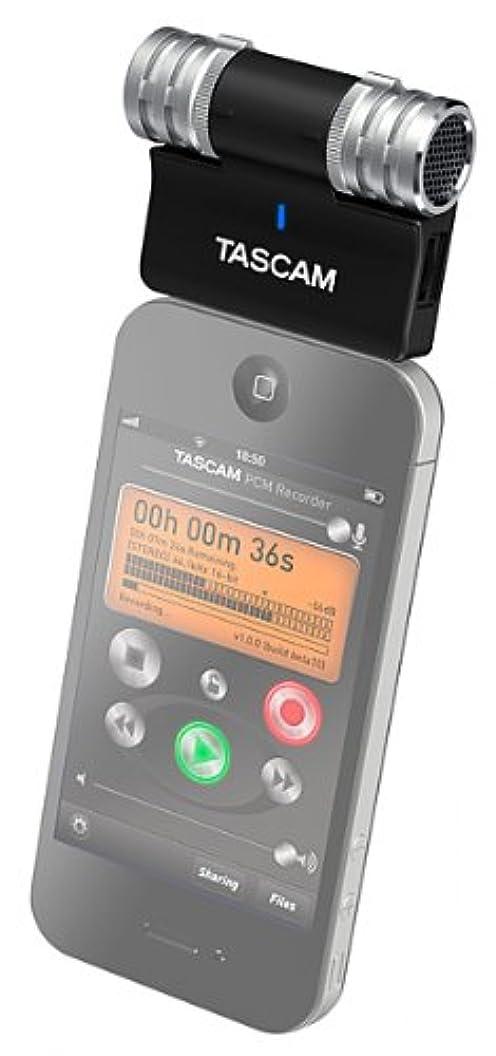ラメゆでるオートメーションTASCAM ステレオコンデンサーマイク iPhone/iPad/iPod touch用 ブラック iM2-B