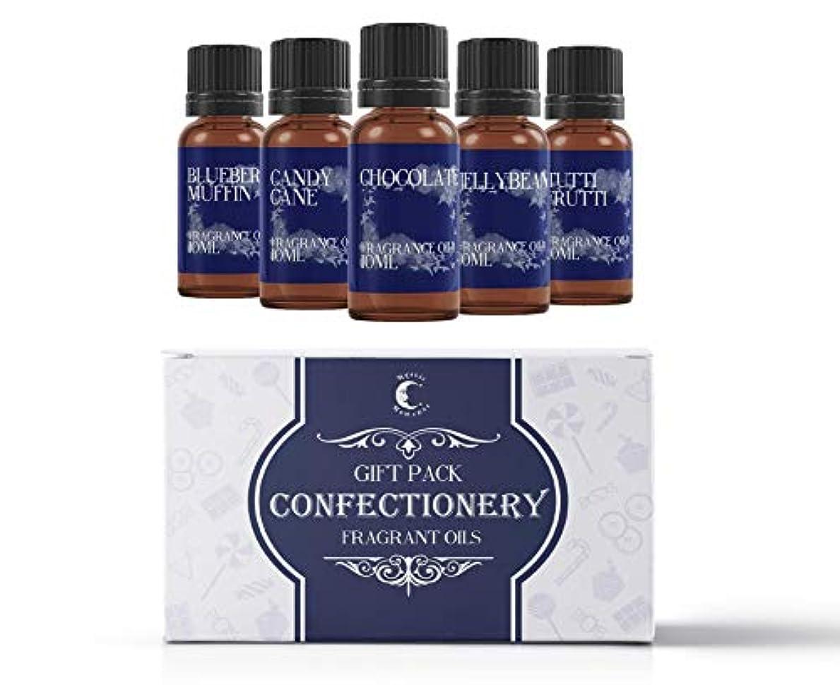 デッキ息を切らしてメドレーMystic Moments | Fragrant Oil Starter Pack - Confectionery Oils - 5 x 10ml