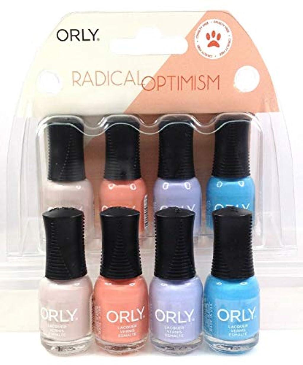 振る舞い食い違い合唱団Orly Nail Lacquer - Radical Optimism 2019 Collection - Mini 4 Pack - 5.3mL / 0.18oz