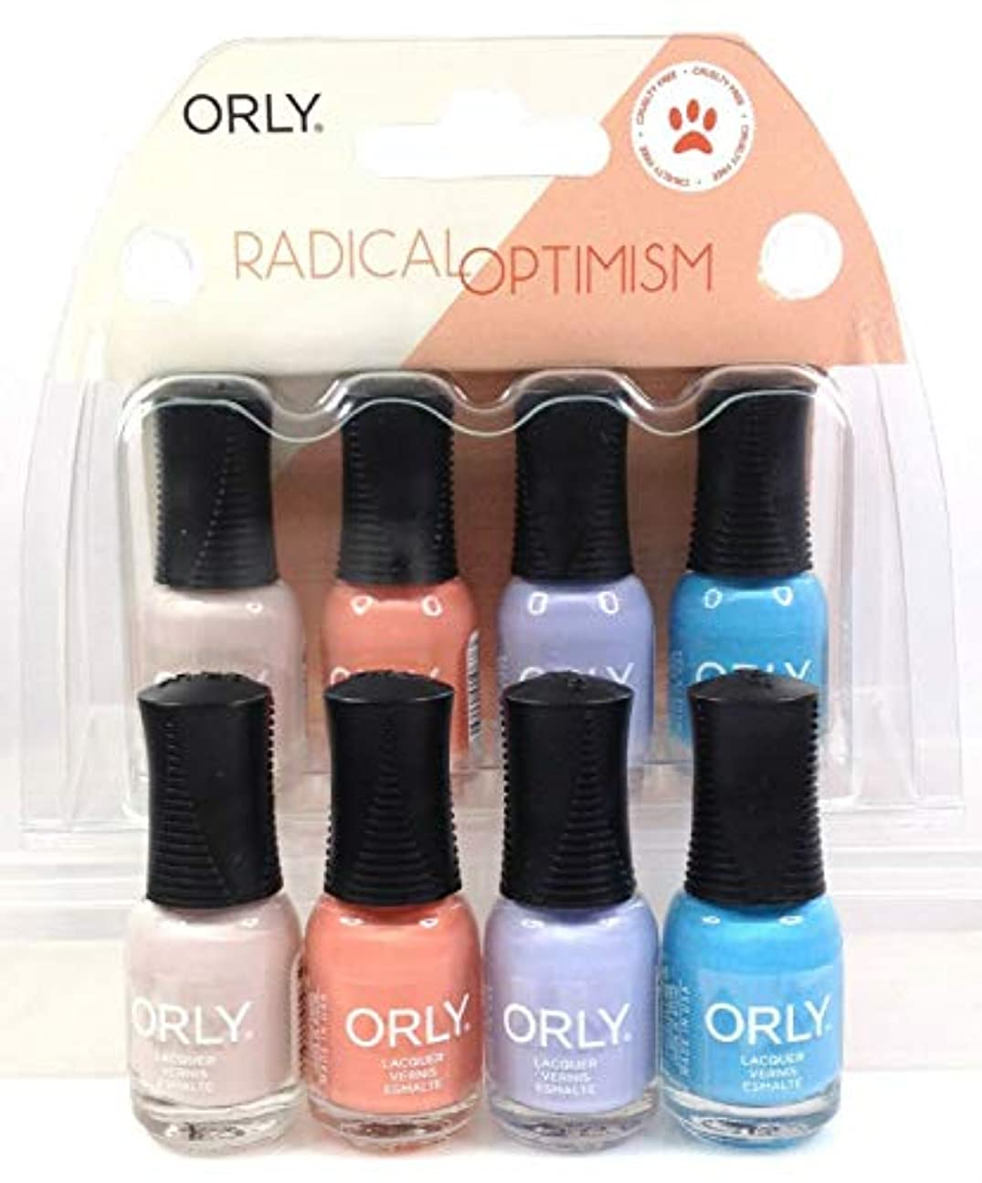 高める電気技師避難するOrly Nail Lacquer - Radical Optimism 2019 Collection - Mini 4 Pack - 5.3mL / 0.18oz