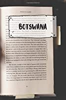 Botswana: Ruled Travel Diary Notebook or Journey  Journal - Lined Trip Pocketbook for Men and Women with Lines
