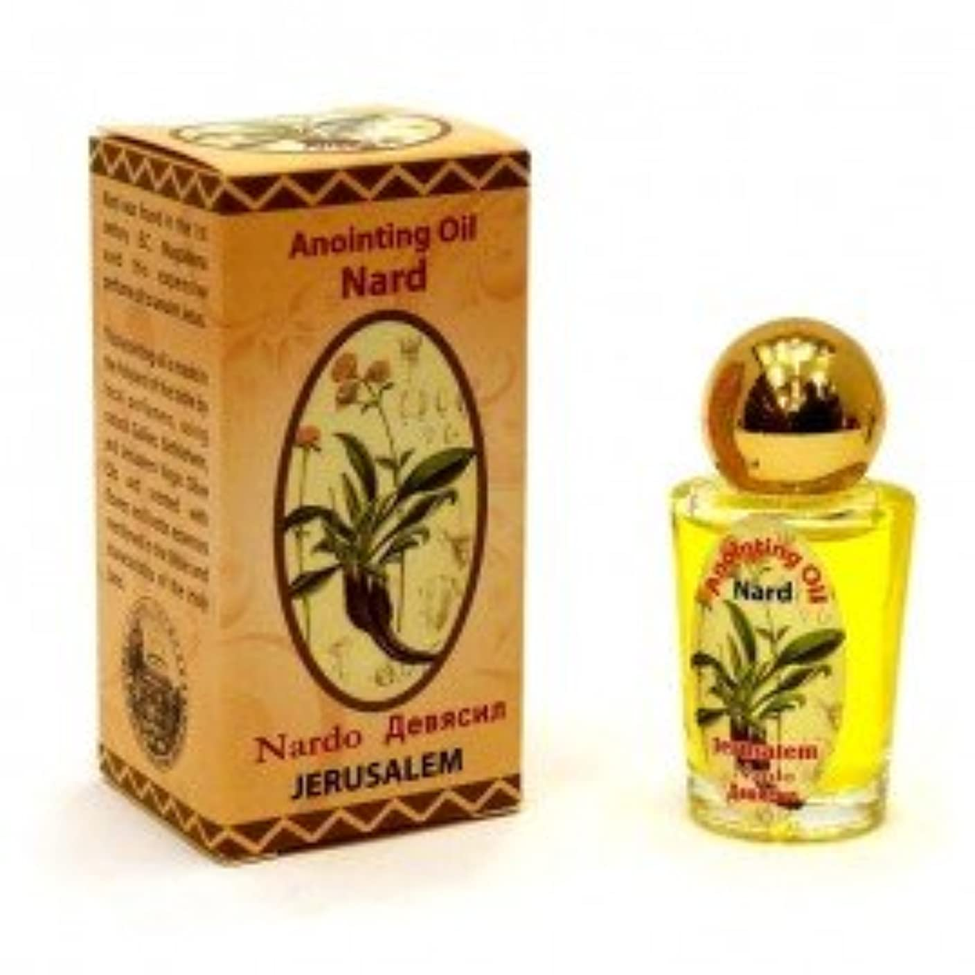 自分自身橋脚漏れHoly Land Blessed Anointingオイル30 ml Biblical Fragrance Jerusalem byベツレヘムギフトTM