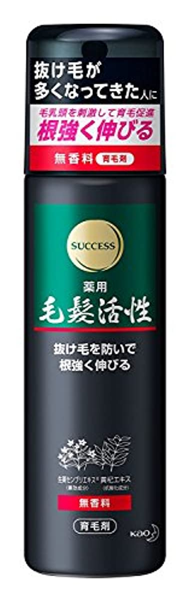 組勢い名前サクセス 薬用毛髪活性 無香料 185g ×6個