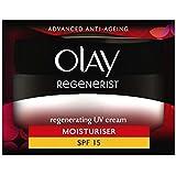 オーレイリジェネ再生UvクリームSpf15の50ミリリットル (Olay) (x2) - Olay Regenerist Regenerating UV Cream SPF15 50ml (Pack of 2) [並行輸入品]