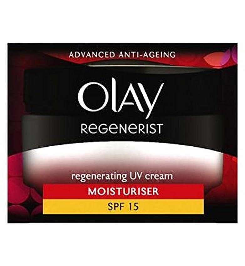 海外ありそう傑出したOlay Regenerist Regenerating UV Cream SPF15 50ml - オーレイリジェネ再生UvクリームSpf15の50ミリリットル (Olay) [並行輸入品]