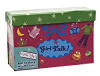 Paper Magic Girls Only, Girl Talk 800 Count Sticker Box by Paper Magic