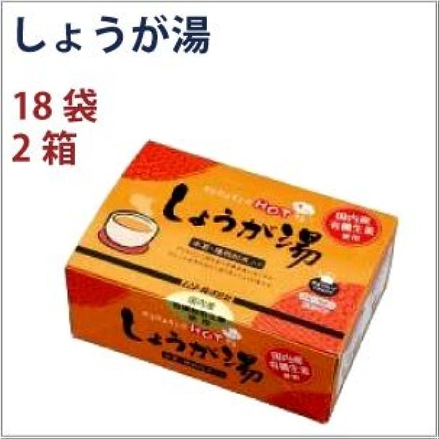 セント実際の寛大さムソー しょうが湯 18袋 2箱