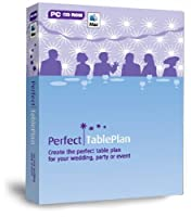 PerfectTablePlan Home Edition Wedding Party Planner Special Events Planning: Design and Print the Perfect Table Plan and Seating Arrangement Software (for PC or Mac) [並行輸入品]