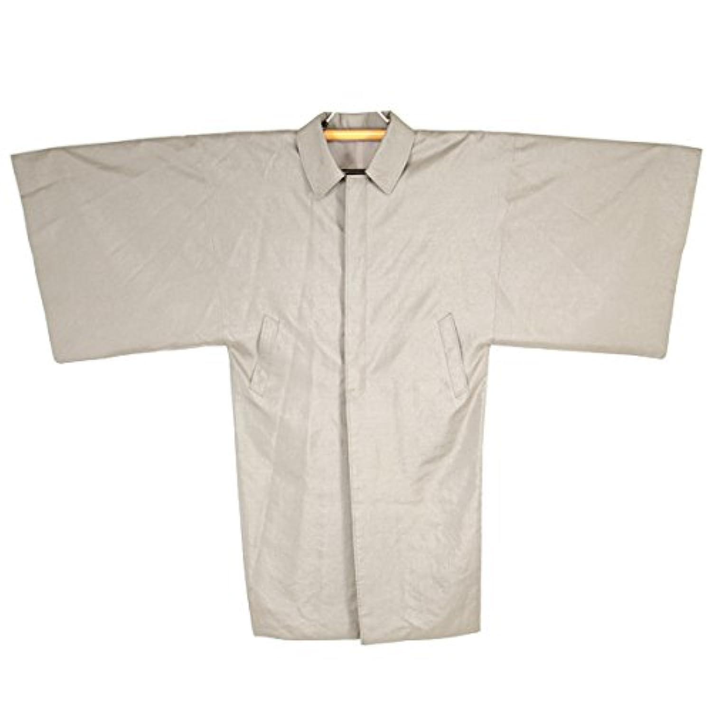 レインコート 角袖コート メンズ 和装コート Mサイズ Lサイズ ベージュ 日本製