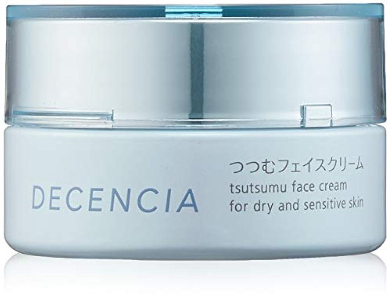 日焼け比喩奇妙なDECENCIA(ディセンシア) 【乾燥?敏感肌用クリーム】つつむ フェイスクリーム 30g