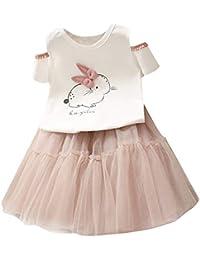 e9568c9429b76 Amazon.co.jp  ホワイト - スカート   ガールズ  服&ファッション小物