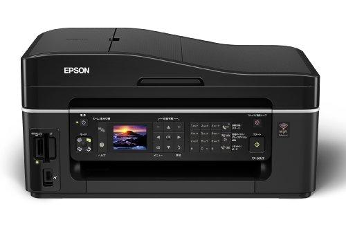 EPSON Colorio インクジェット複合機 PX-602F 有線・無線LAN標準搭載 FAX搭載 4色顔料