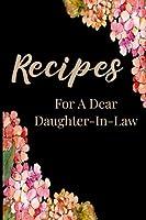 Recipes: Create Your Own Recipe Book Blank Fill In Cookbook