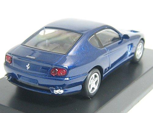 京商 1/64 フェラーリ ミニカーコレクション6 456GT 青