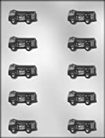 CK Products 1-3/4-Inch Fire Truck Chocolate Mold by CK Products