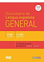 Diccionario de Lengua Española. General