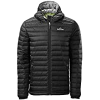 Kathmandu Heli Hooded Lightweight Compact Water-Repellent Warm Men Down Jacket Men's