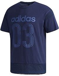 adidas (アディダス) M SPORT ID メッシュコンビ Tシャツ CX3389 ETZ49 1806 メンズ