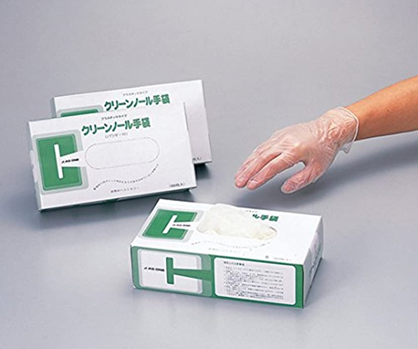 持続するチャールズキージングプットアズワン6-903-12クリーンノール手袋PVCパウダー付M10箱(1000枚入)