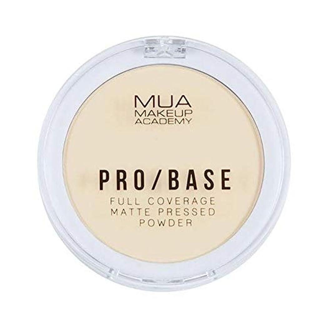希少性布コック[MUA] Muaプロ/ベースのフルカバレッジマットパウダー#100 - MUA Pro/Base Full Coverage Matte Powder #100 [並行輸入品]