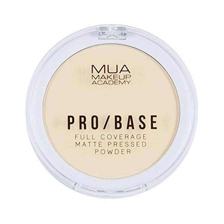 はっきりと国内の単なる[MUA] Muaプロ/ベースのフルカバレッジマットパウダー#100 - MUA Pro/Base Full Coverage Matte Powder #100 [並行輸入品]