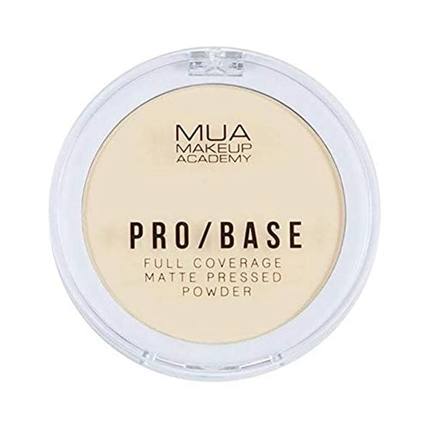現金愚か透ける[MUA] Muaプロ/ベースのフルカバレッジマットパウダー#100 - MUA Pro/Base Full Coverage Matte Powder #100 [並行輸入品]