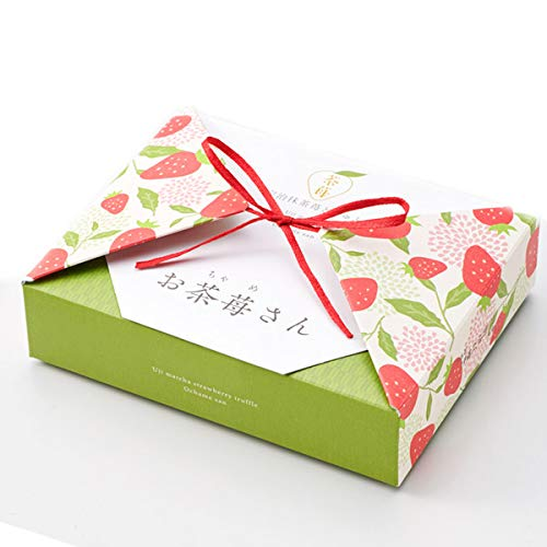 伊藤久右衛門 ホワイトデー 宇治抹茶 トリュフ チョコレート ストロベリーチョコ お茶苺さん 限定 いちご箱