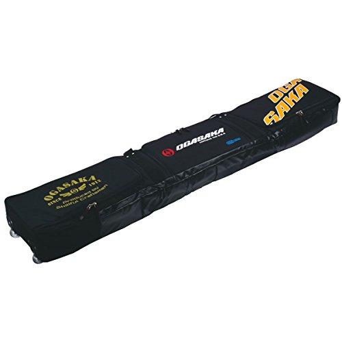 OGASAKA(オガサカ) スキーケース ALL IN ONE スキー用品1式収納可能 キャスター付 オールインワン スキーバ...