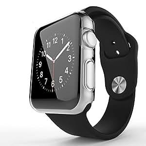 Apple Watch Series 2 ケース Sakula PC ウオッチ保護ケース 耐衝撃性 脱着簡単 ハードカバー アップル ウォッチ シリーズ2 38mm対応(クリア)