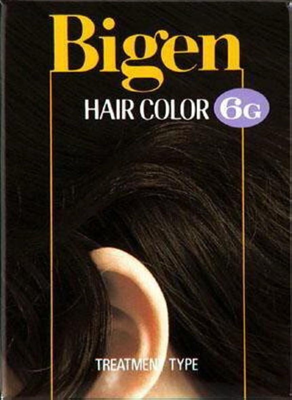 女優傷つける噛むビゲン ヘアカラー 6G 自然な褐色 × 10個セット