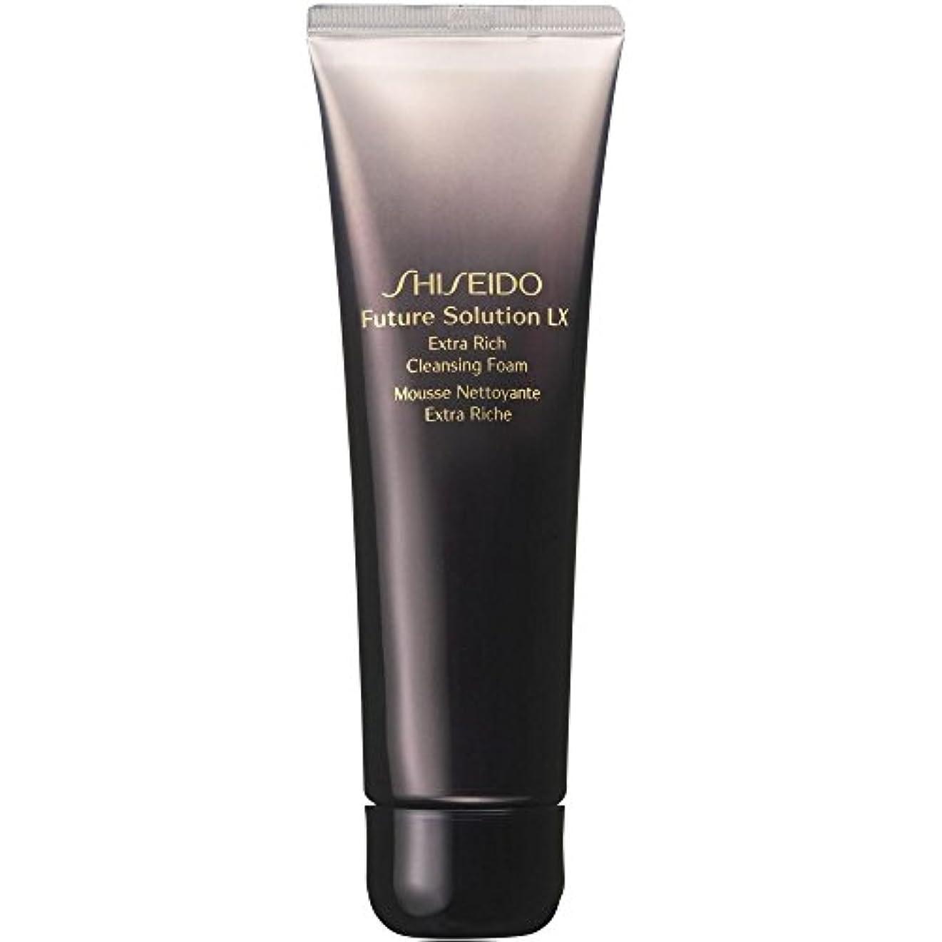 コミュニケーション熱狂的なタヒチ[Shiseido] 資生堂フューチャーソリューションLxを余分豊富な洗顔フォーム、125ミリリットル - Shiseido Future Solution Lx Extra Rich Cleansing Foam, 125ml...