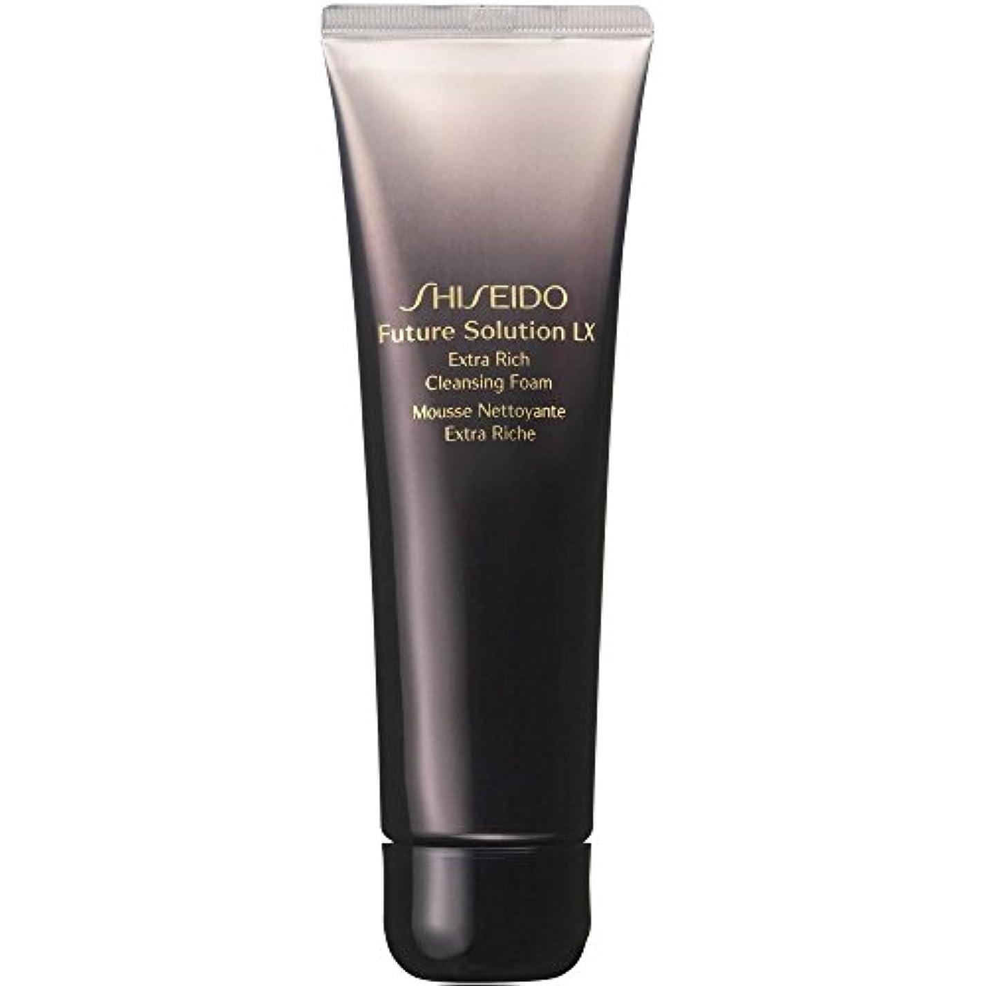月暫定請負業者[Shiseido] 資生堂フューチャーソリューションLxを余分豊富な洗顔フォーム、125ミリリットル - Shiseido Future Solution Lx Extra Rich Cleansing Foam, 125ml...