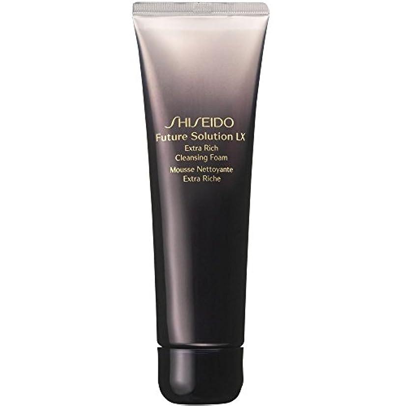 解くジャーナル毎回[Shiseido] 資生堂フューチャーソリューションLxを余分豊富な洗顔フォーム、125ミリリットル - Shiseido Future Solution Lx Extra Rich Cleansing Foam, 125ml...