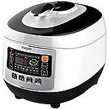 Mayer Pressure Cooker, 5 L, White