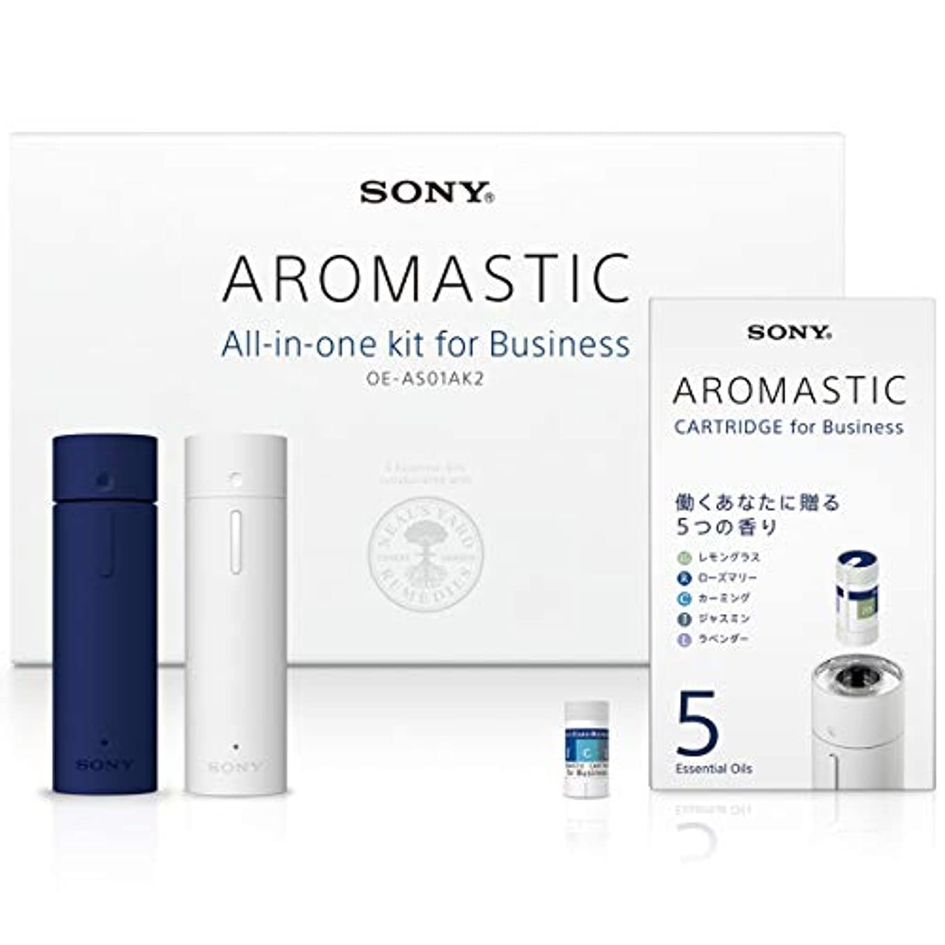 ボーナス限り手綱AROMASTIC All-in-one kit for Business (オールインワンキット for Business) OE-AS01AK2