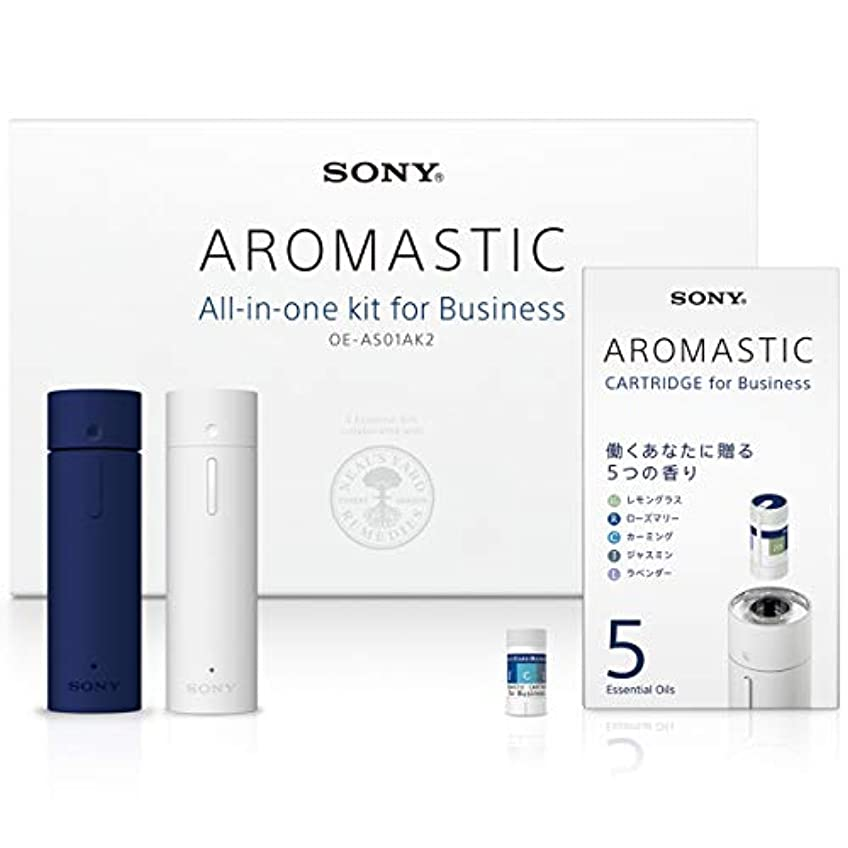 ベッツィトロットウッドカウンターパート欠陥AROMASTIC All-in-one kit for Business (オールインワンキット for Business) OE-AS01AK2