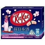 【販路限定品】ネスレ日本 キットカットミニ 桜日本酒 3枚×10箱