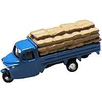 津川洋行 Nスケール NC-118 オート三輪 積載仕様 穀物袋 (ブルー)