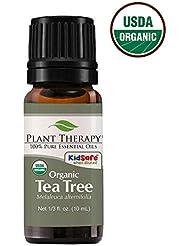Plant Therapy Essential Oils (プラントセラピー エッセンシャルオイル) オーガニック ティーツリー (メラルーカ) エッセンシャルオイル