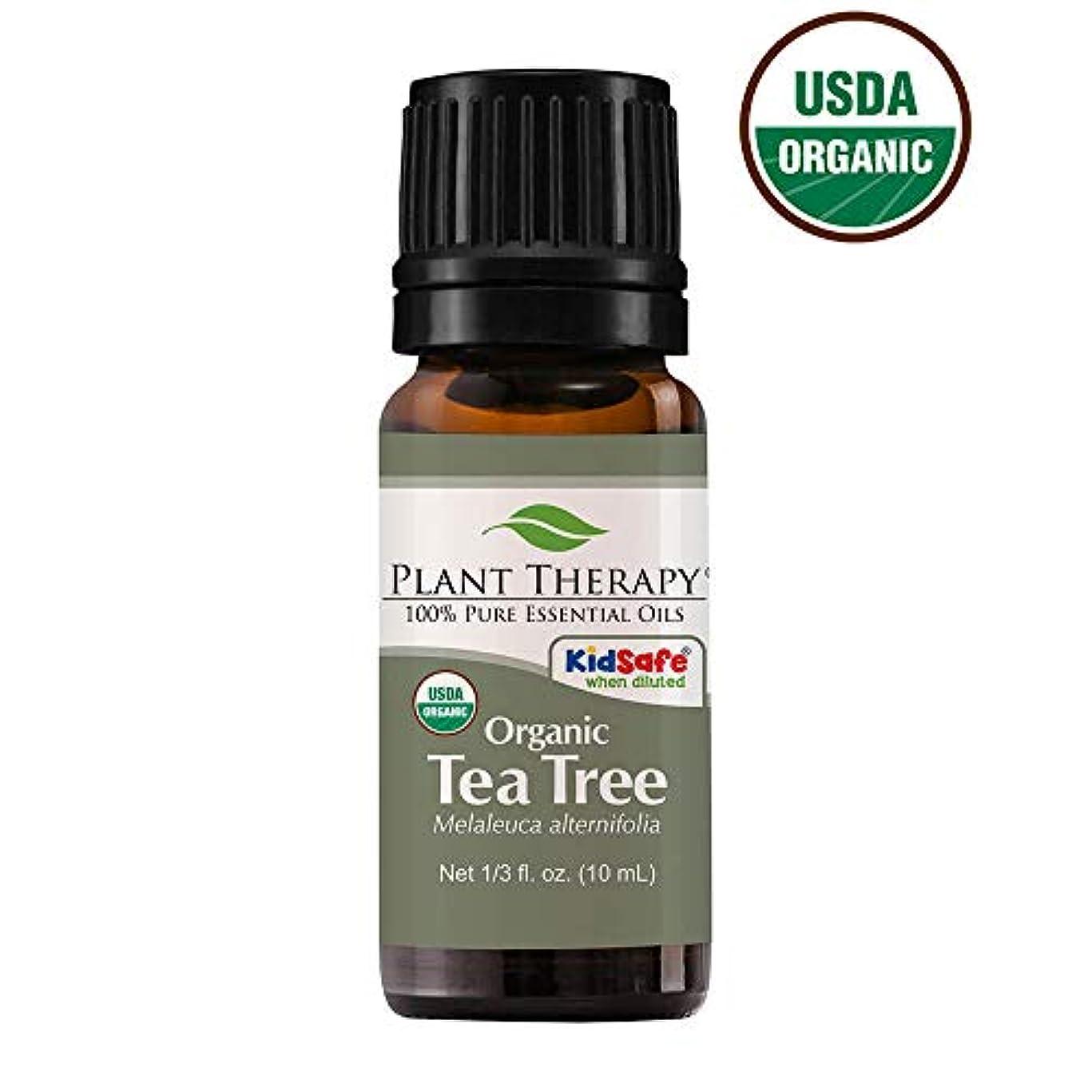 気取らない拷問スポンサーPlant Therapy Essential Oils (プラントセラピー エッセンシャルオイル) オーガニック ティーツリー (メラルーカ) エッセンシャルオイル